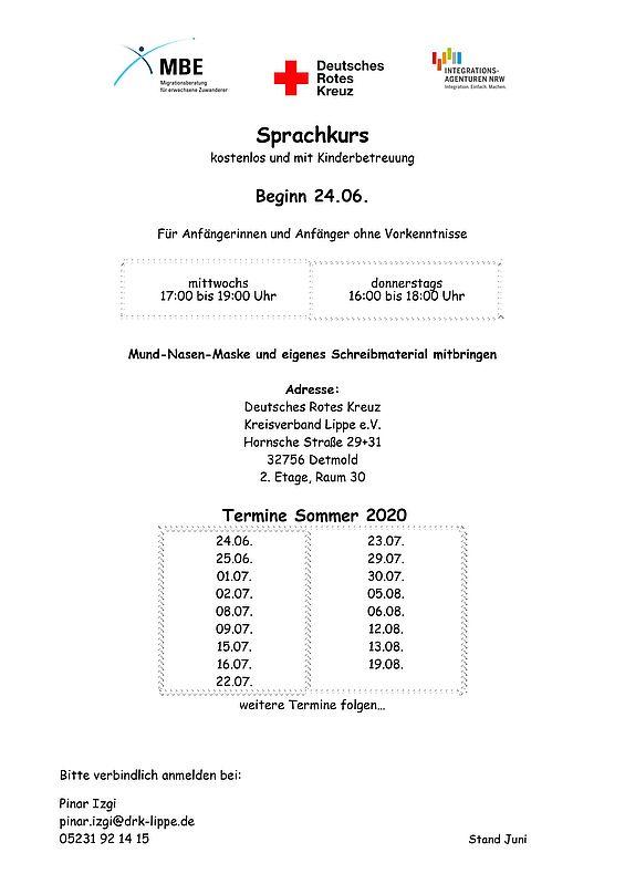 Sprachkurs in Detmold